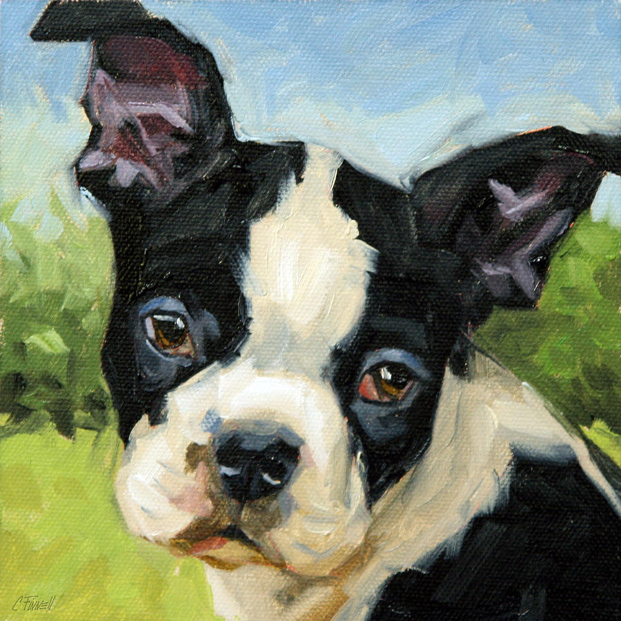 Blackie Painting  - Blackie Fine Art Print