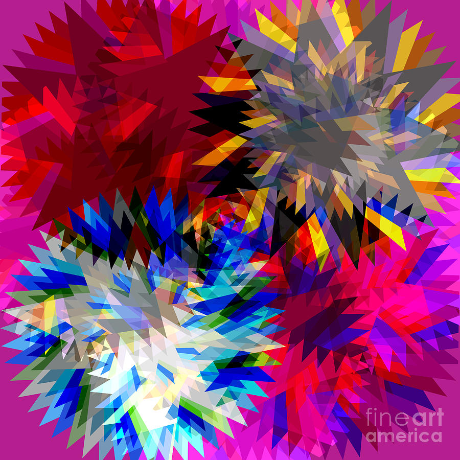Blade In Pink Digital Art