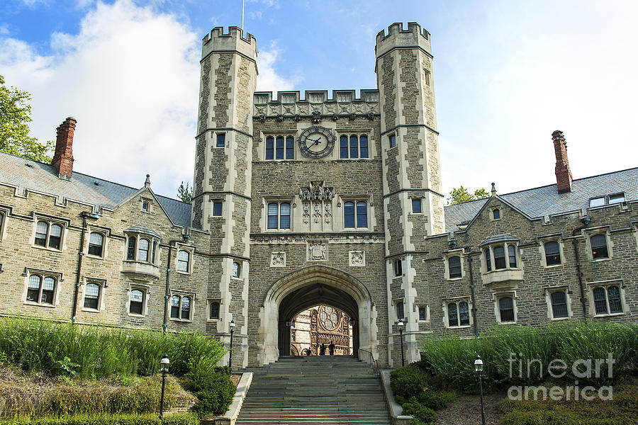 Blair Hall Princeton Photograph  - Blair Hall Princeton Fine Art Print