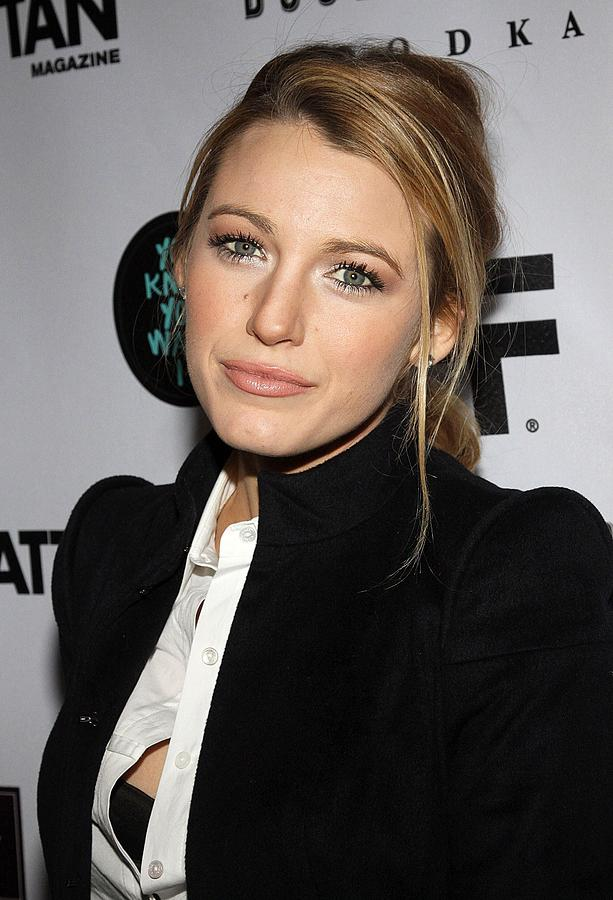 Blake Lively At Arrivals For You Know Photograph  - Blake Lively At Arrivals For You Know Fine Art Print