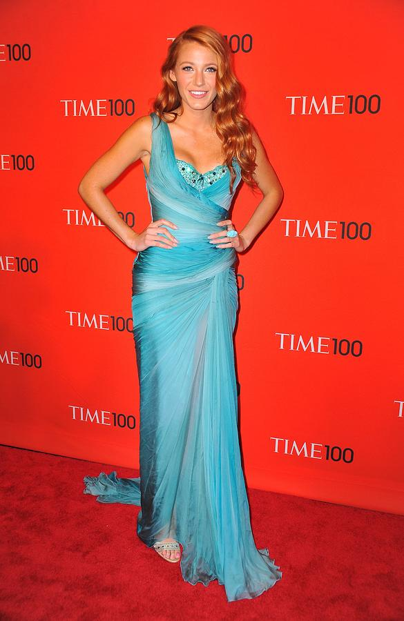Blake Lively Wearing A Zuhair Murad Photograph