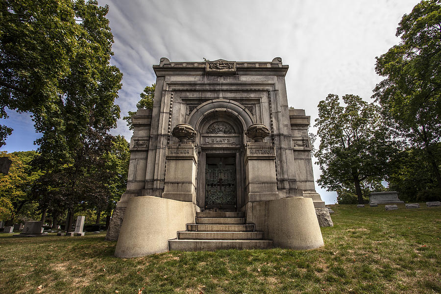Blatz Family Mausoleum Photograph by CJ Schmit