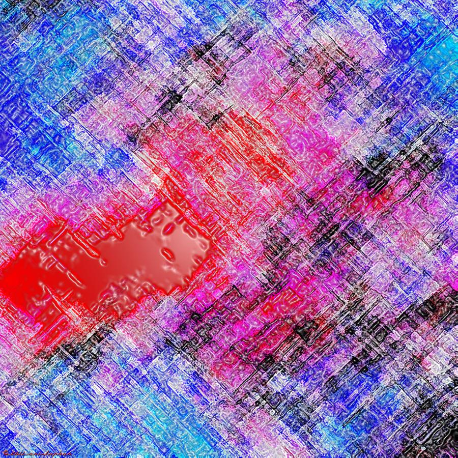 Bleeding Soul Digital Art