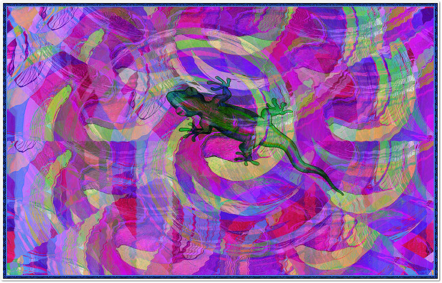 Blending In Digital Art  - Blending In Fine Art Print