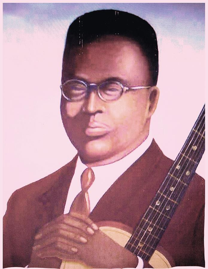 Blind Lemon Jefferson Painting  - Blind Lemon Jefferson Fine Art Print