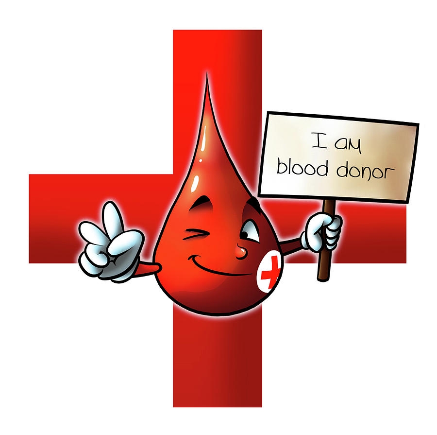Blood Donor Digital Art
