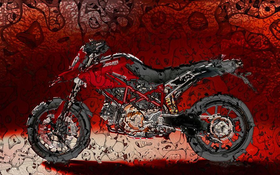 Bloody Italian Beauty Digital Art
