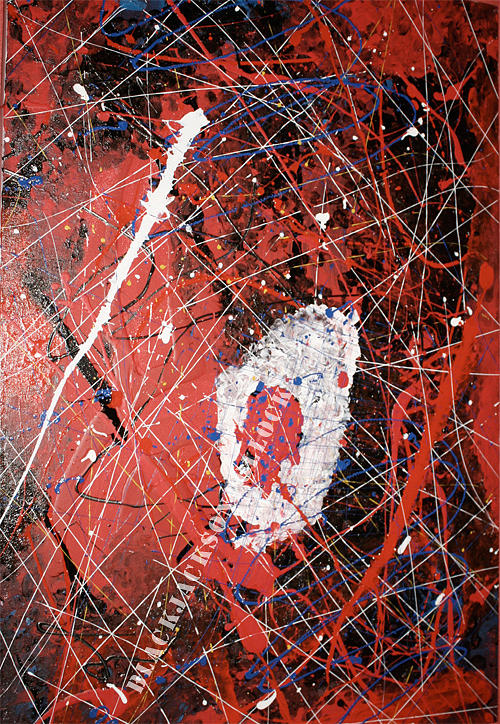 Bloody Synapse Painting