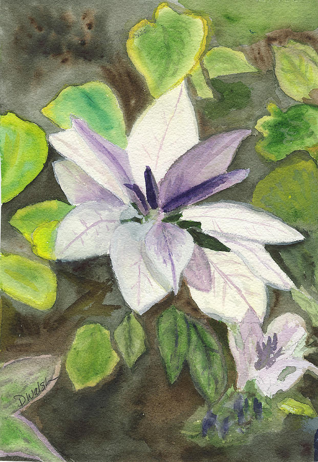 Blossom At Sundy House Painting  - Blossom At Sundy House Fine Art Print