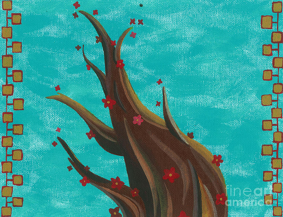Blossoming Painting  - Blossoming Fine Art Print