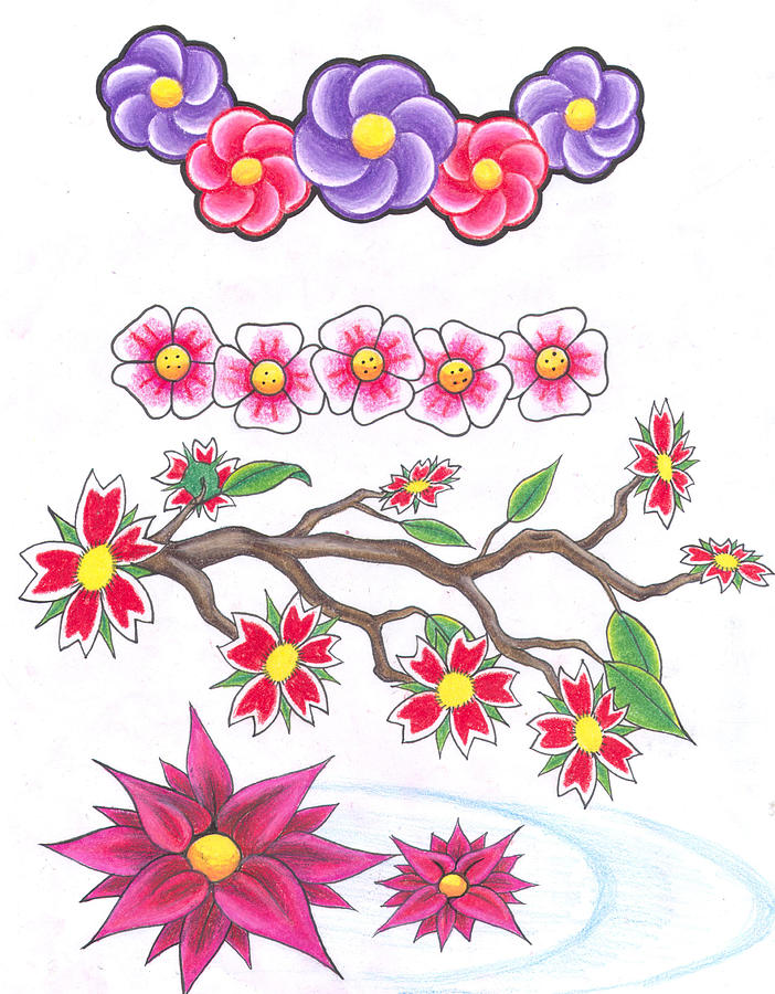 Blossoms Drawing