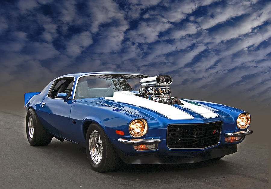 Blown Z28 Photograph  - Blown Z28 Fine Art Print