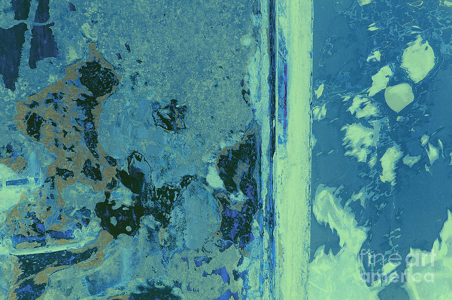 Blue Abstraction Photograph