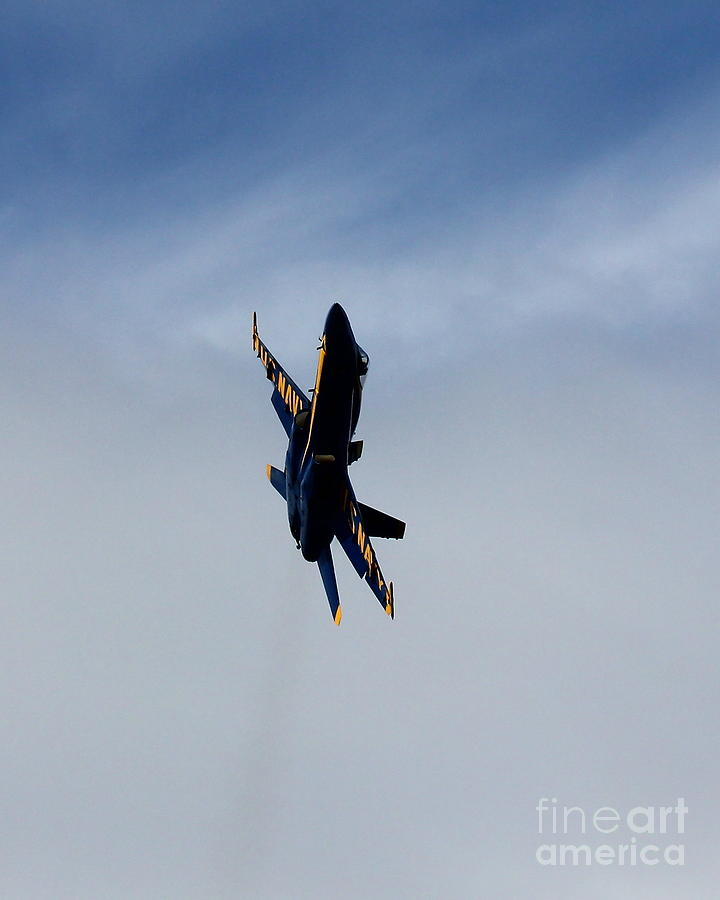 Blue Angel Solo Photograph