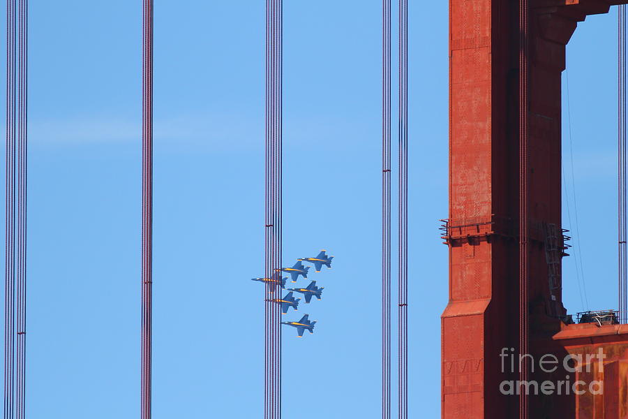 Blue Angels F-18 Super Hornet . 7d8085 Photograph