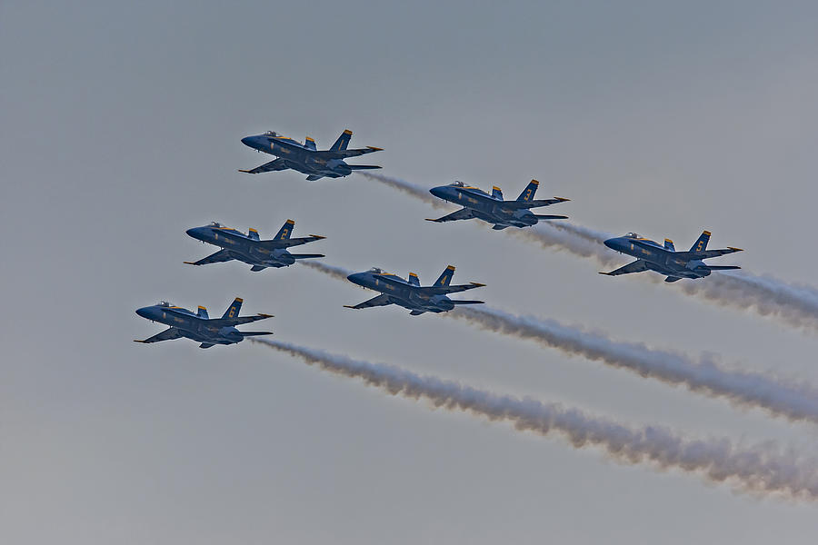 Blue Angels Photograph  - Blue Angels Fine Art Print