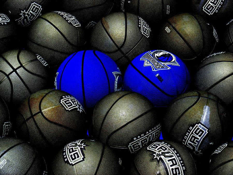 Blue Balls Photograph