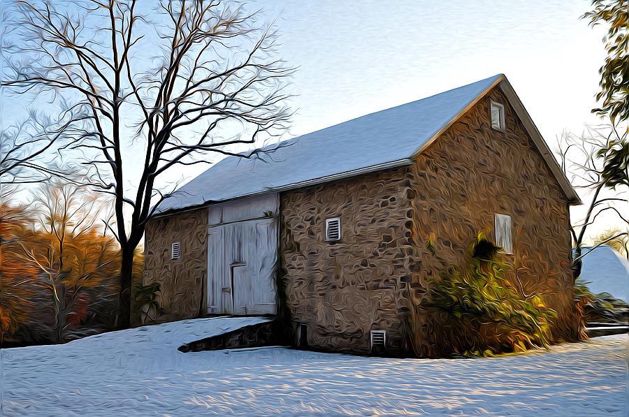 Blue Bell Barn Photograph