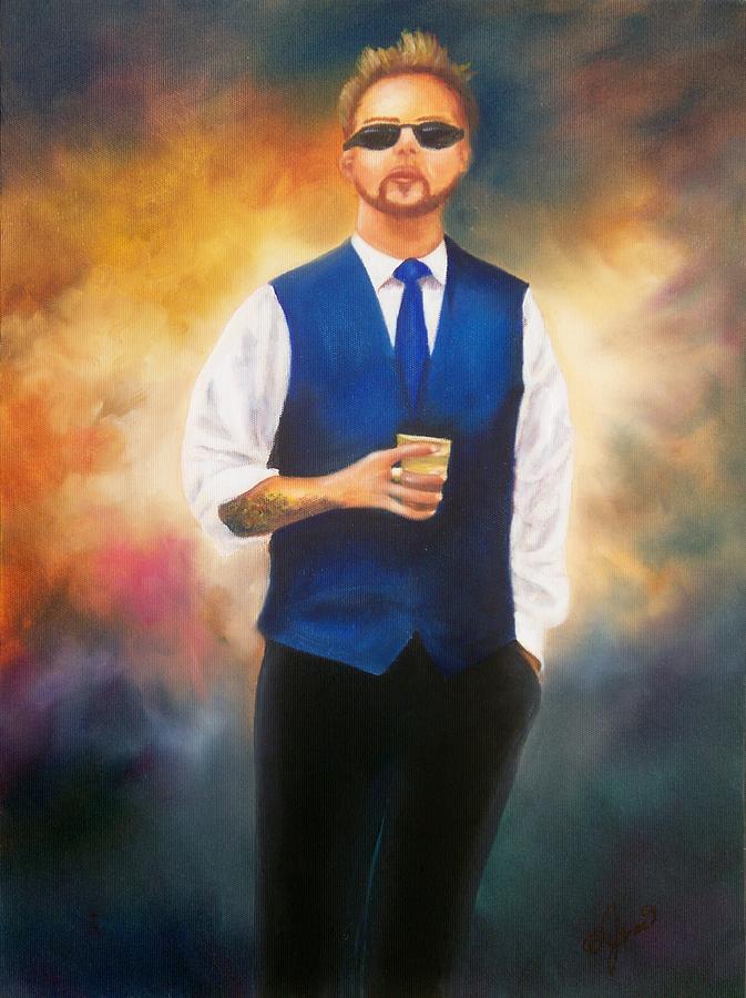 Blue Boy 2012 Painting