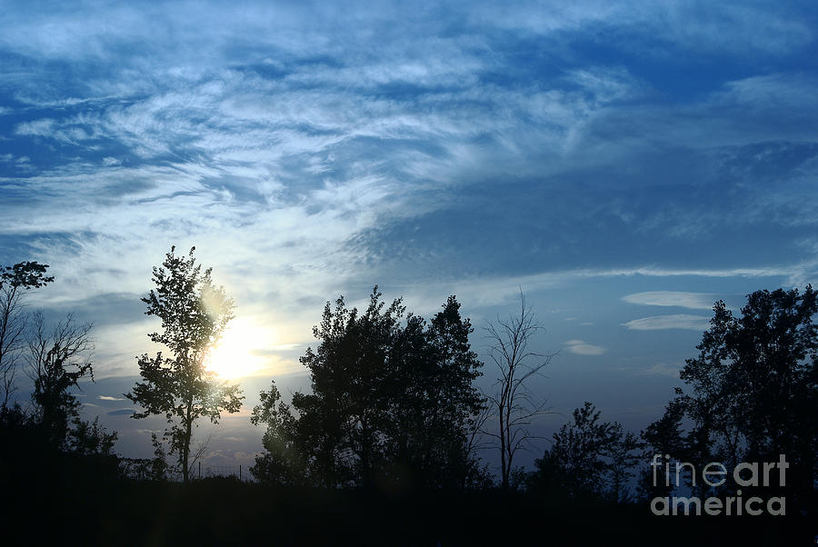 Blue Canvas Sky 03 Photograph