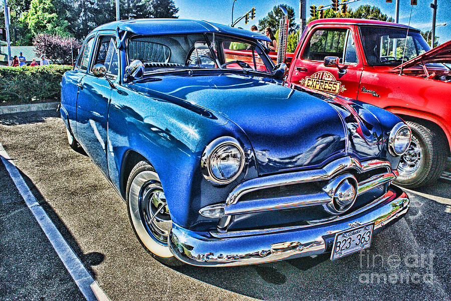 Blue Classic Hdr Photograph