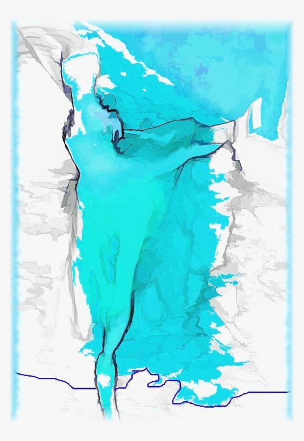 Blue Dancer Photograph