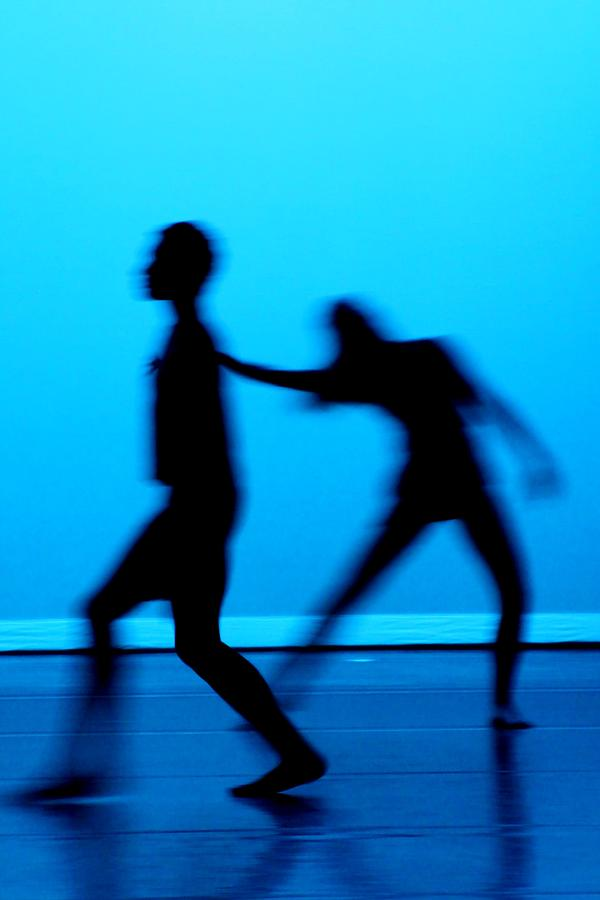 Dance Photograph - Blue Dancers by Kenneth Mucke