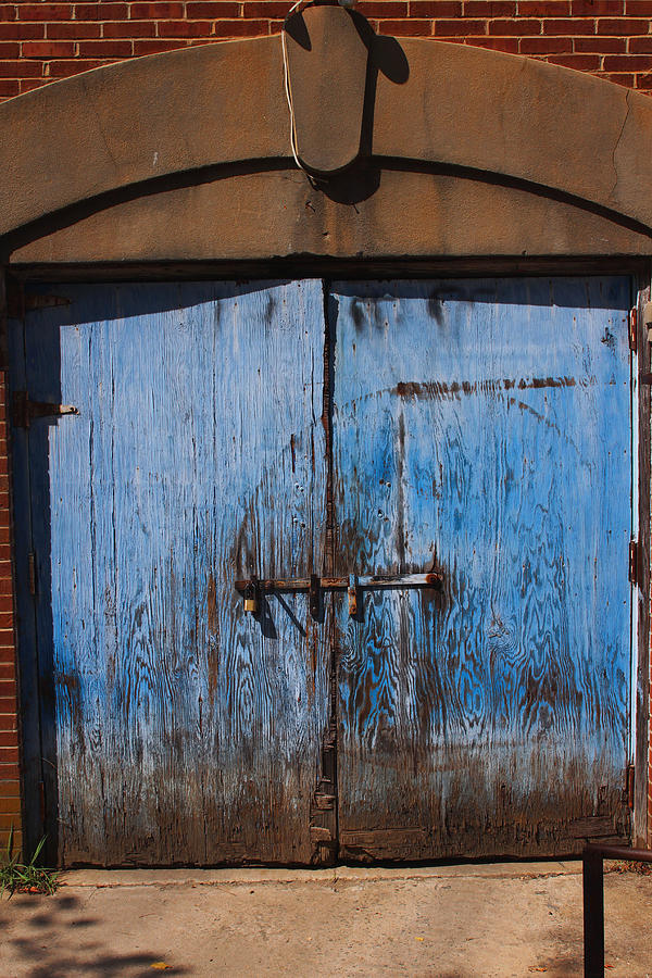 Blue Doors Photograph  - Blue Doors Fine Art Print
