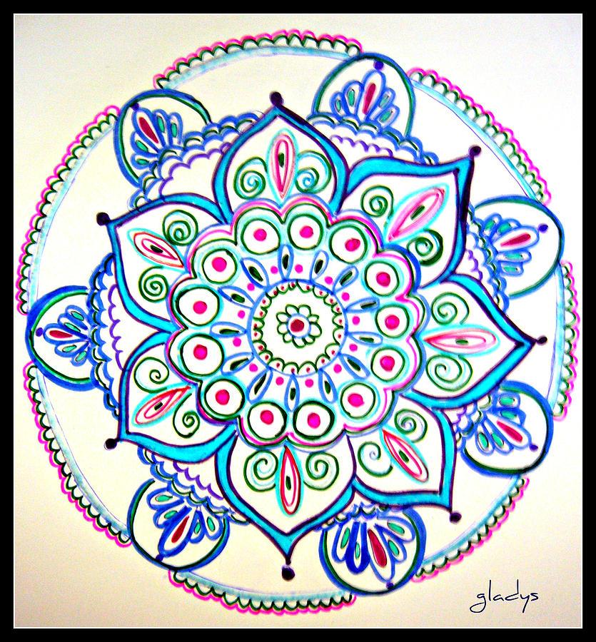 Мандалы с цветами значение