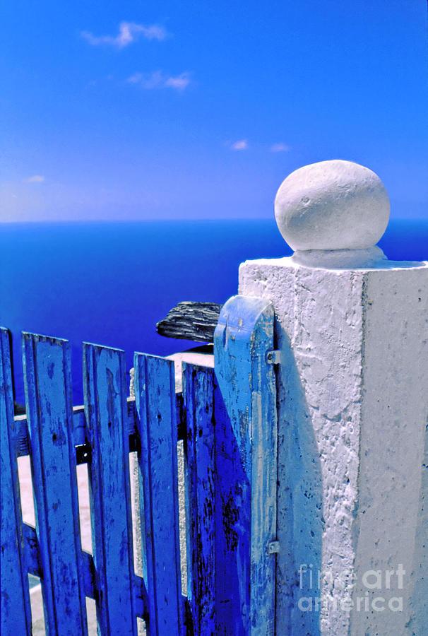 Blue Gate Photograph
