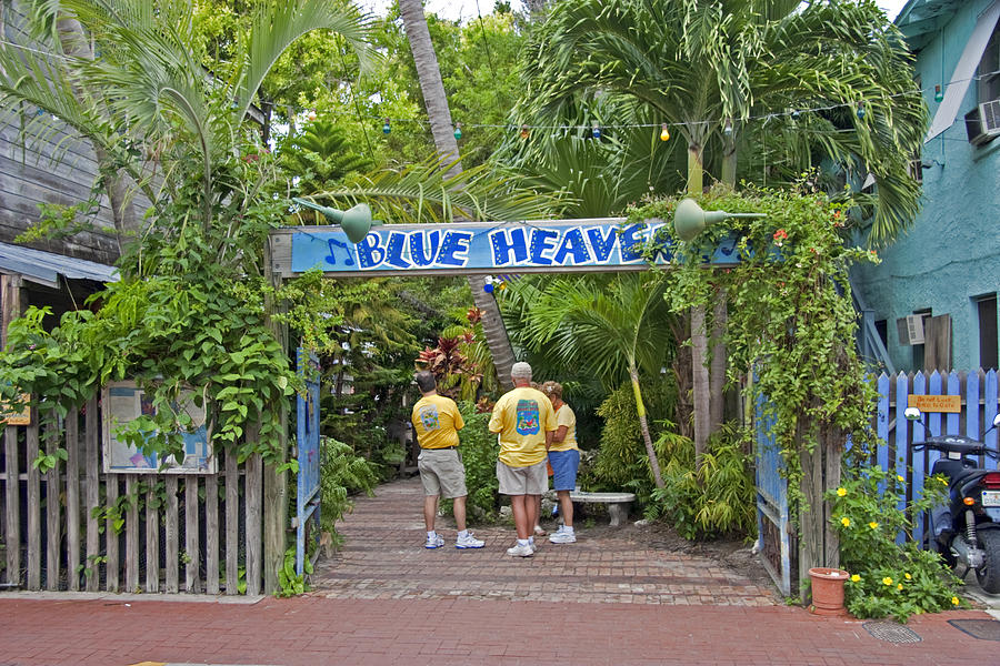 Blue Heaven Cafe Key West Florida
