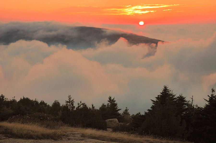 Blue Hill Sunset - Acadia Photograph  - Blue Hill Sunset - Acadia Fine Art Print