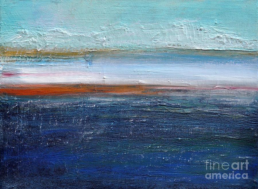 Blue Landscape Painting