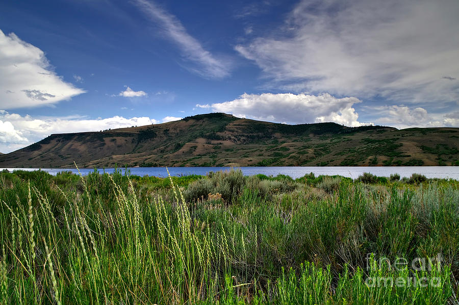 Blue Mesa Reservoir Photograph
