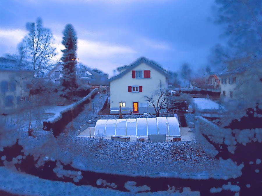 Blue Morn Photograph