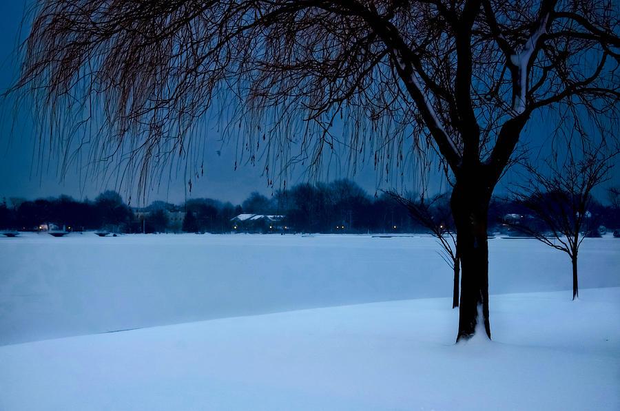 Blue Photograph - Blue Morning At Argyle by Vicki Jauron