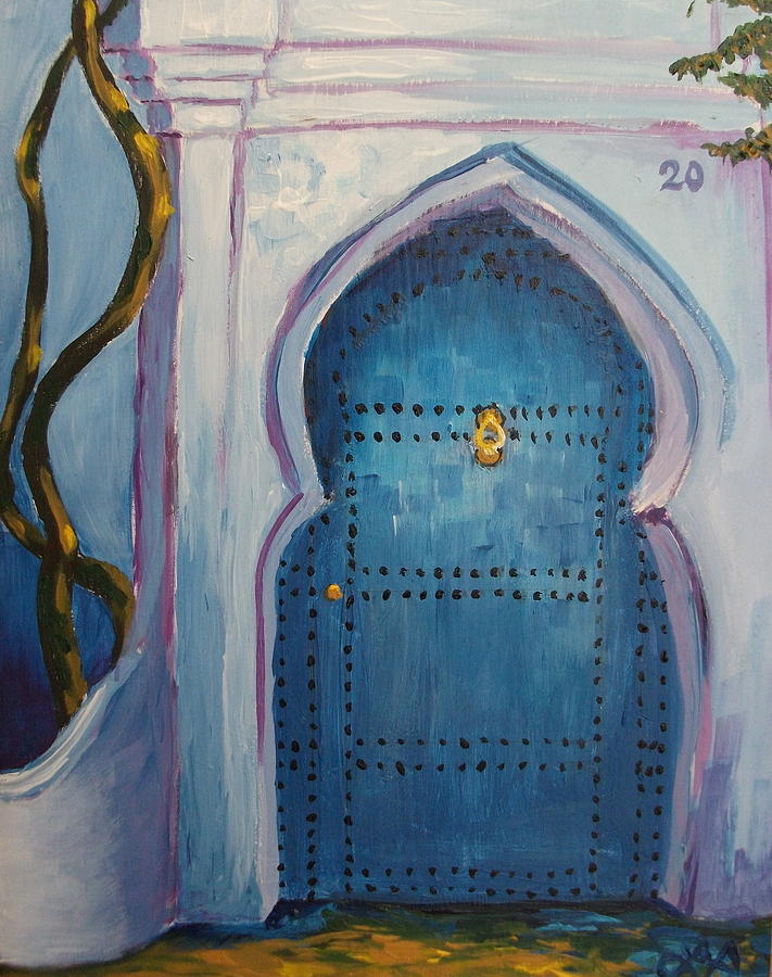 Moroccan Paintings Images