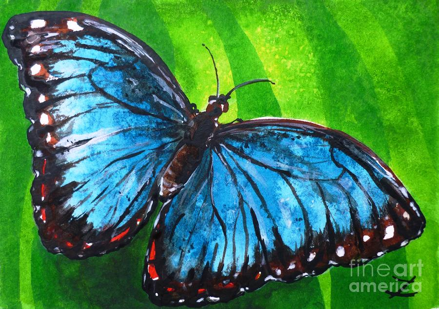 Famous butterfly paintings - photo#1