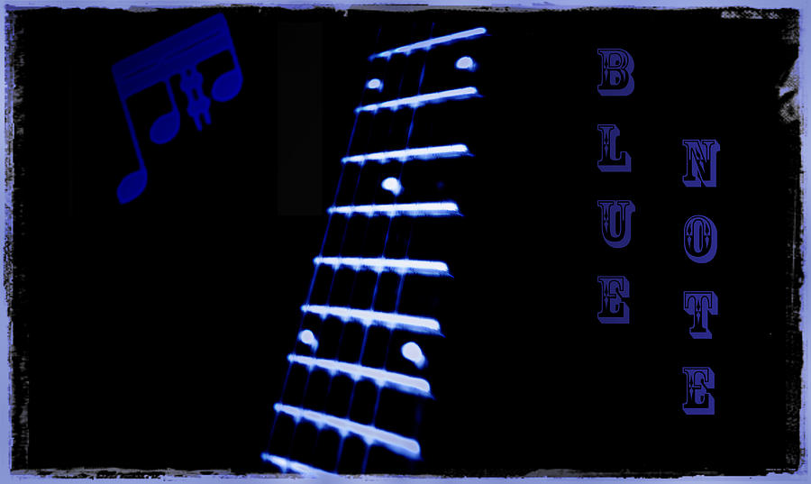 Blue Note Photograph  - Blue Note Fine Art Print