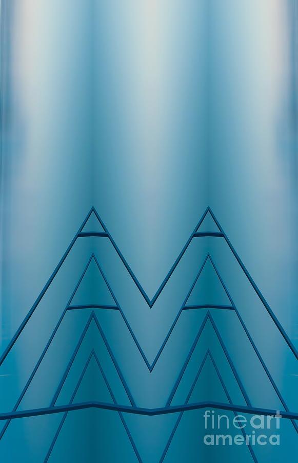 Blue Reflection Digital Art