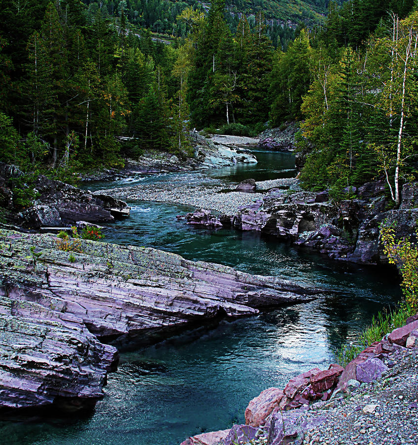 Blue River Photograph