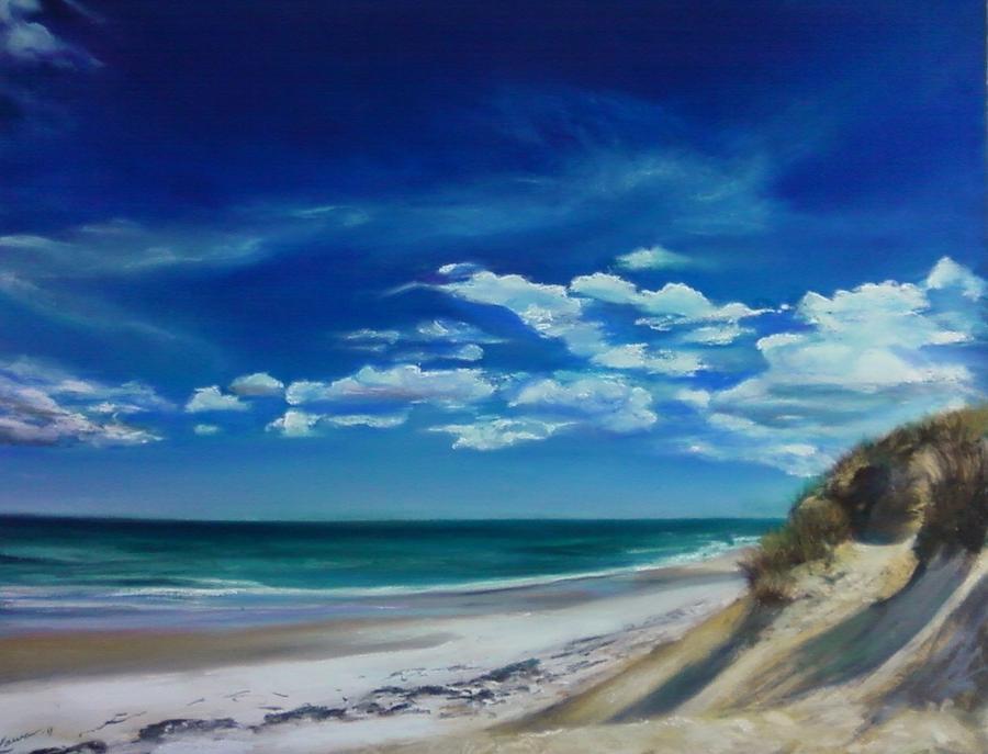 Blue Sky Walk Pastel