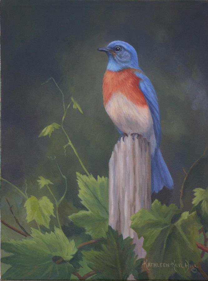 Bluebird Painting