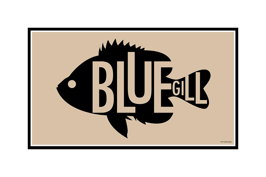 Bluegill Digital Art
