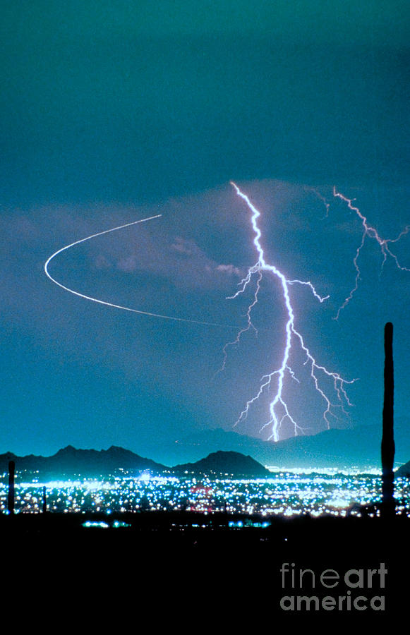 Bo Trek The Lightning Man Photograph  - Bo Trek The Lightning Man Fine Art Print