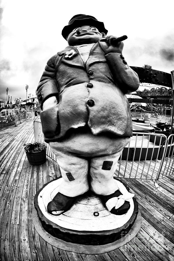 Boardwalk Hobo Photograph  - Boardwalk Hobo Fine Art Print