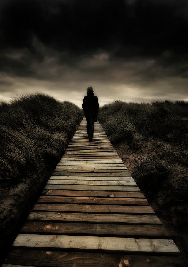 Boardwalk Of Doom Photograph  - Boardwalk Of Doom Fine Art Print