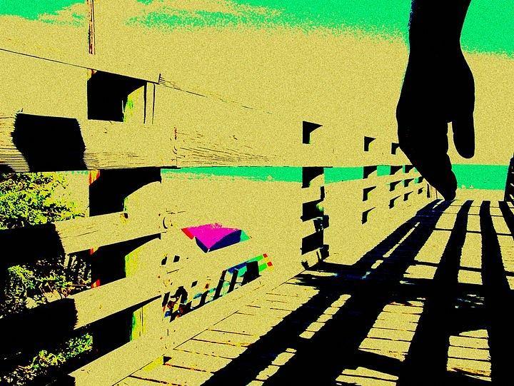 Boardwalk Photograph