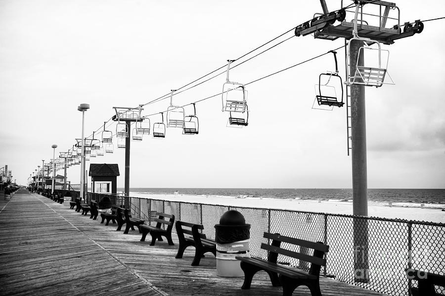 Boardwalk Ride Photograph