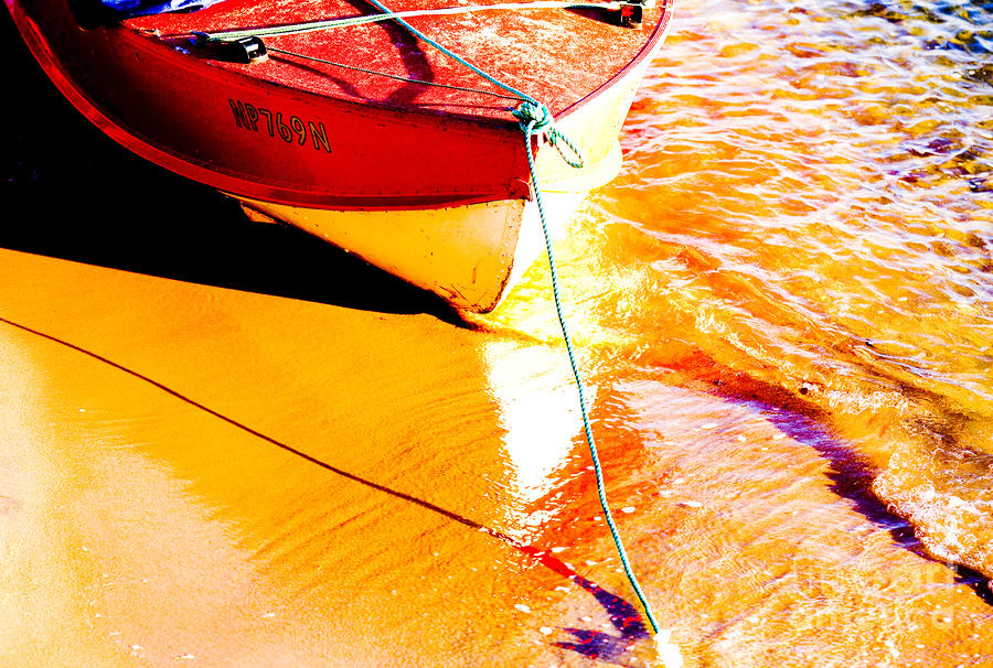 Boat Abstract Photograph
